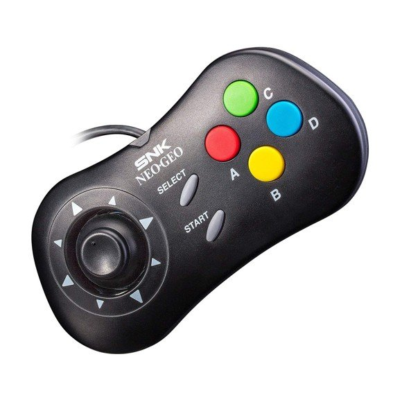 SNK NeoGeo Mini - 40th Anniversary Controller (Black)
