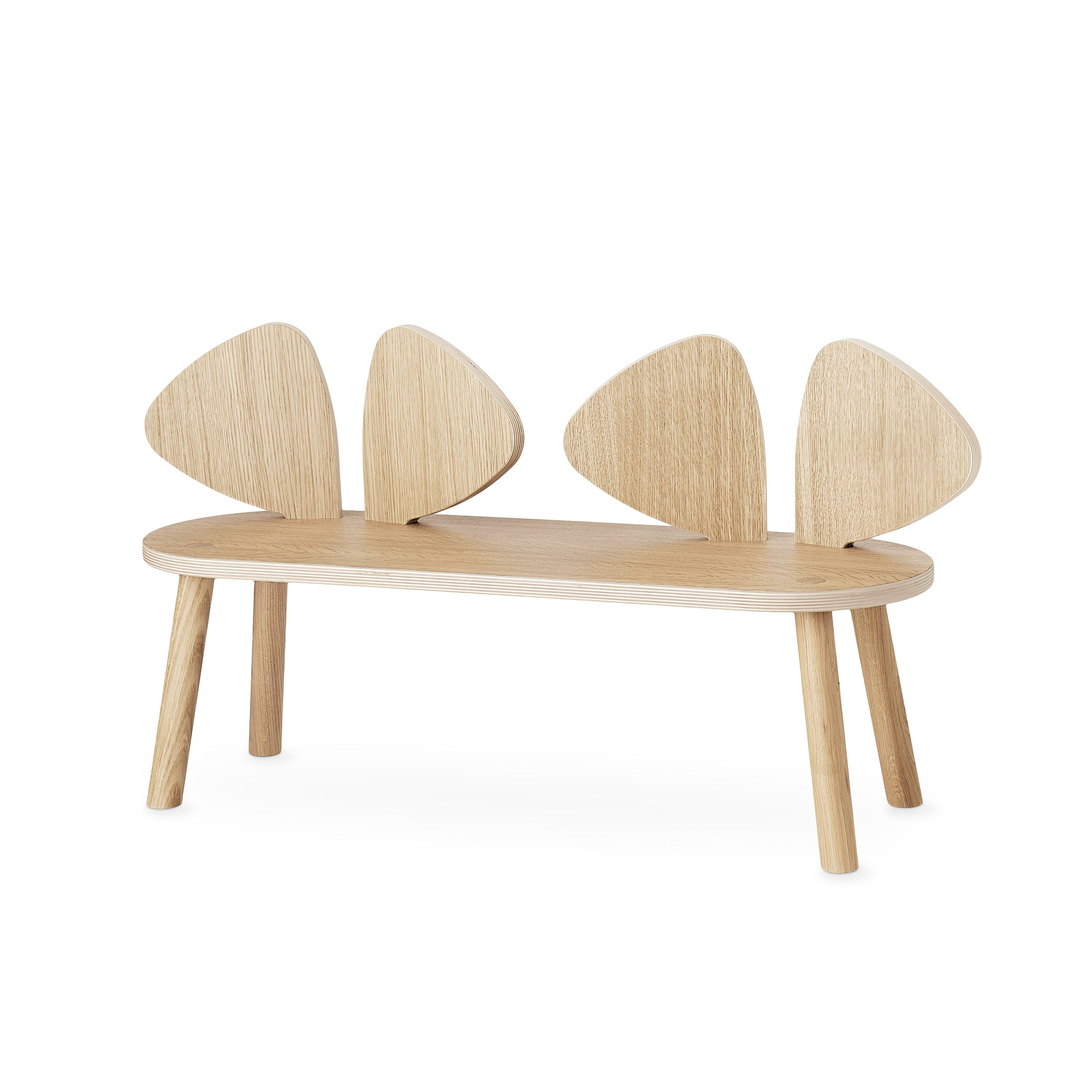 Nofred - Mouse Bench - Oak