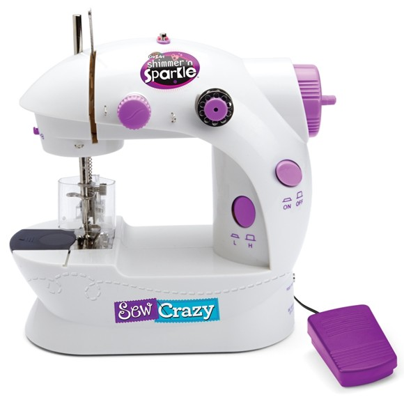 Shimmer 'n Sparkle - Sew Crazy Sewing Machine (40-00033)