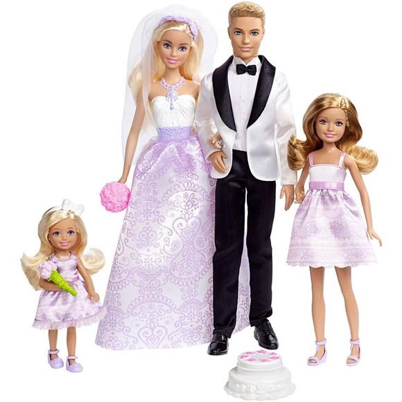 Barbie - Bryllupssæt (DJR88)