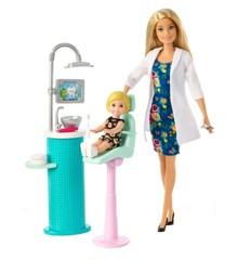 Barbie - Tandlæge Legesæt (FXP16)