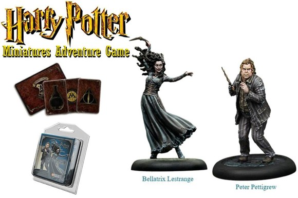 Harry Potter - Miniatures Adventure Game - Bellatrix and Wormtail (HPMAG05)