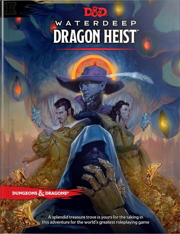 Dungeons and Dragons - Waterdeep Dragon Heist Book (D&D) (Engelsk)