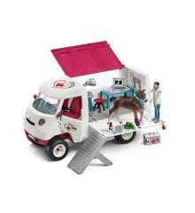 Schleich - Mobile Vet with Hanoverian Foal (42370)