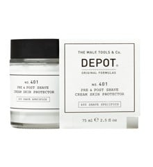 Depot - No. 401 Pre & Post Shave Cream Skin Protector 75 ml