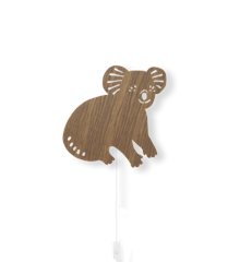 ​Ferm Living - Koala Lamp - Smoked Oak (100049316)
