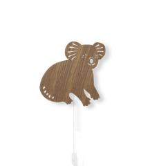 Ferm Living - Koala Lampe - Røget Eg