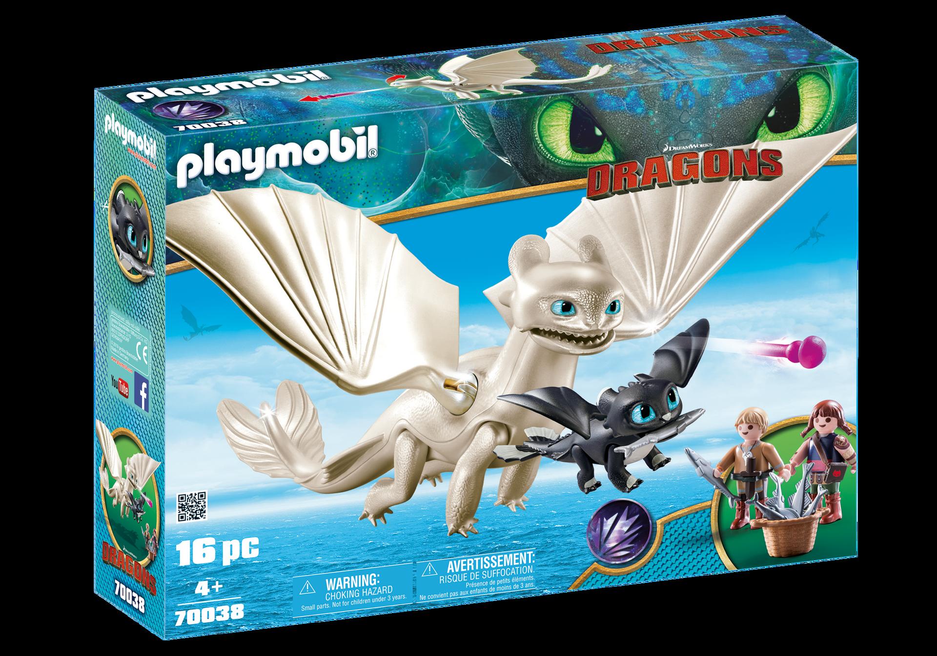 Playmobil - Light Fury Playset (70038)