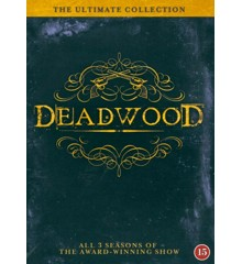 Deadwood - The Complete Serie 1-3 (12 disc) - DVD