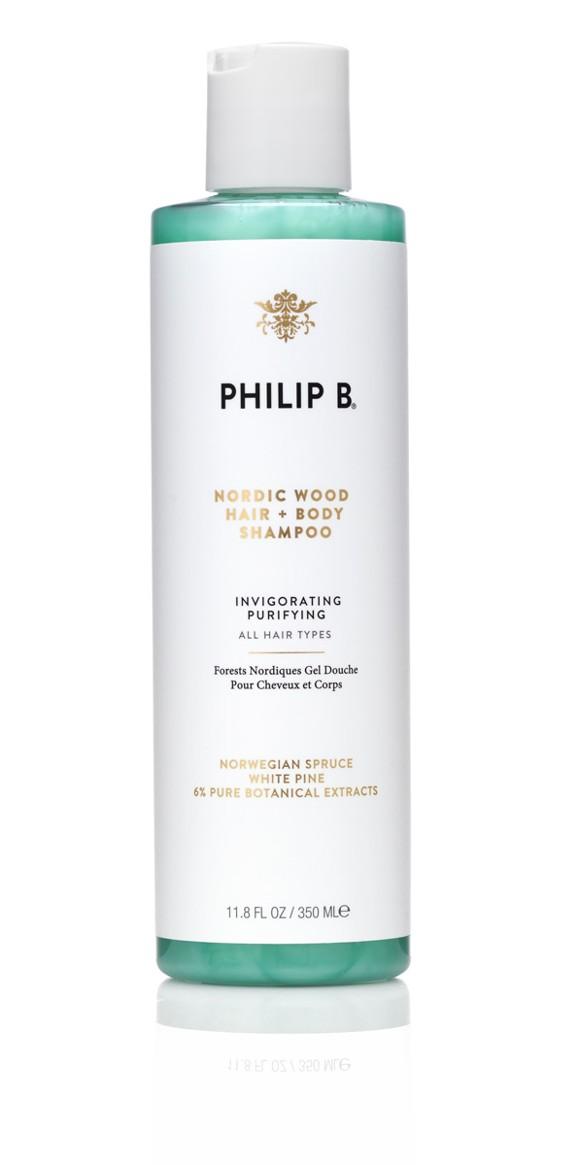 Philip B - Nordic Wood One Step Shampoo 350 ml