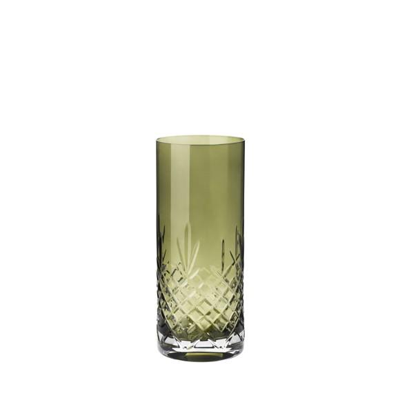 Frederik Bagger - Crispy Emerald Love 1 Crystal Vase (10384)