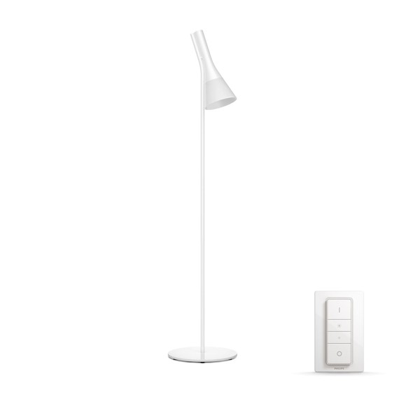 Philips Hue - Explore  Floor Lamp White (Dimmer Switch Included)