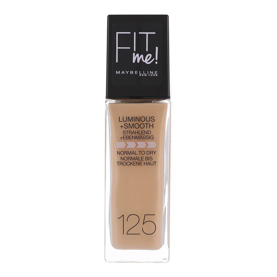 Maybelline - Fit Me Luminous & Smooth Foundation - Nude Beige 125
