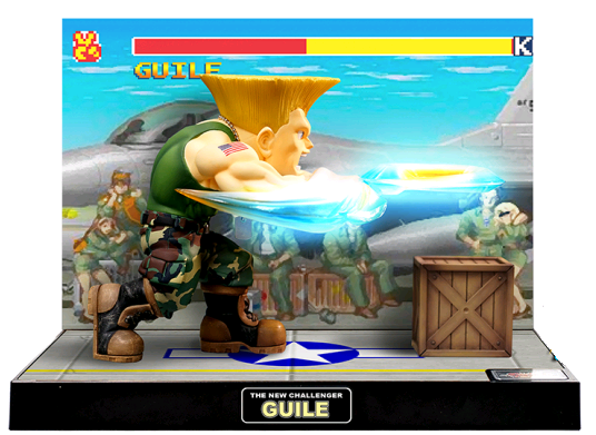 Street Fighter T.N.C.-04 (The New Challenger) Guile