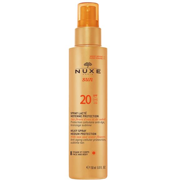 Nuxe Sun - Milky Spray Face and Body 150 ml - SPF 20