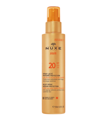 Nuxe Sun - Milky Spray Solcreme til Ansigt og Krop 150 ml - SPF 20