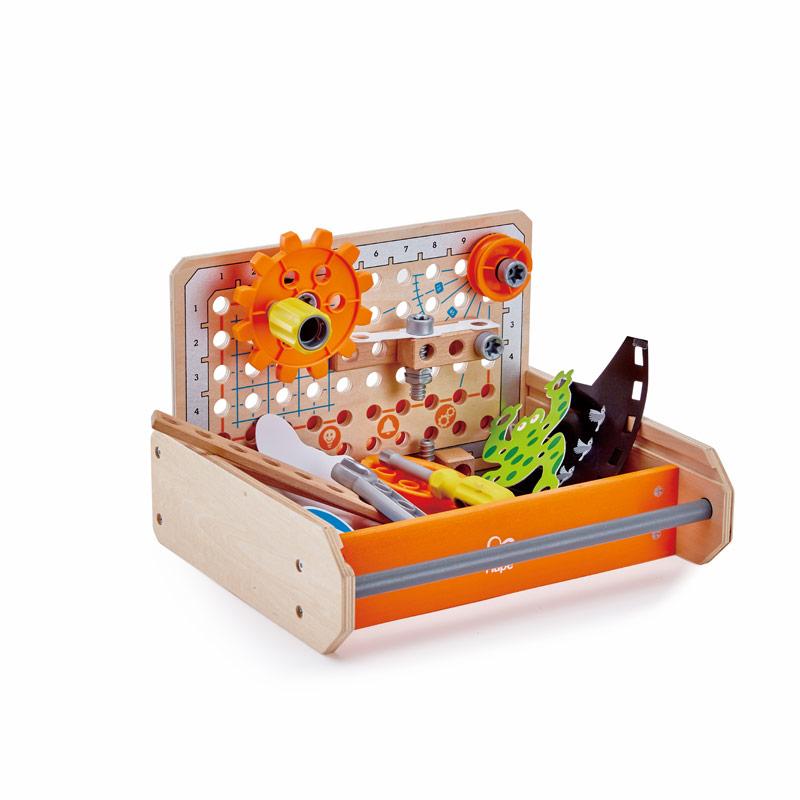 Hape - Science Tüftler Werkzeugkasten (6133)