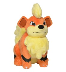 Pokemon - Plys Bamse 20 cm - Growlithe