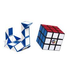 Rubikin Kuutio- Lahjapakkaus Duo - Uusi 3x3 + Twist Snake (77204)
