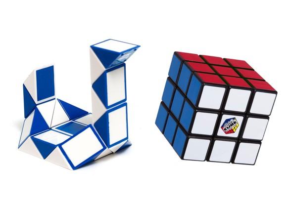 Rubiks Cube - Gaveæske - Ny 3x3 + Twist Snake