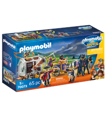 Playmobil - THE MOVIE Charlie with Prison Wagon (70073)