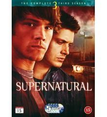 Supernatural: Sæson 3 - DVD