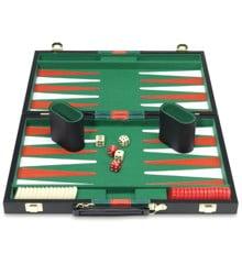 Backgammon i resväska
