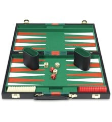 Backgammon in koffer