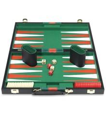 Backgammon matkalaukussa