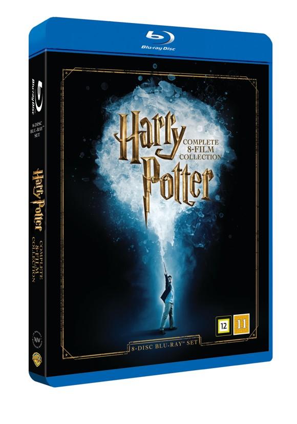 Harry Potter: Den komplette 8-films Kollektion (8-disc) (Blu-Ray)