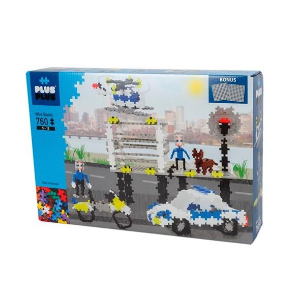 Plus Plus - Mini Basic Police 760 + 2 plates (2-661)