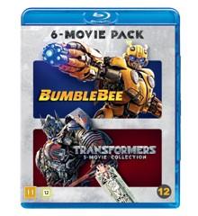 Transformers 1-6 (incl Bumblebee) - Blu ray