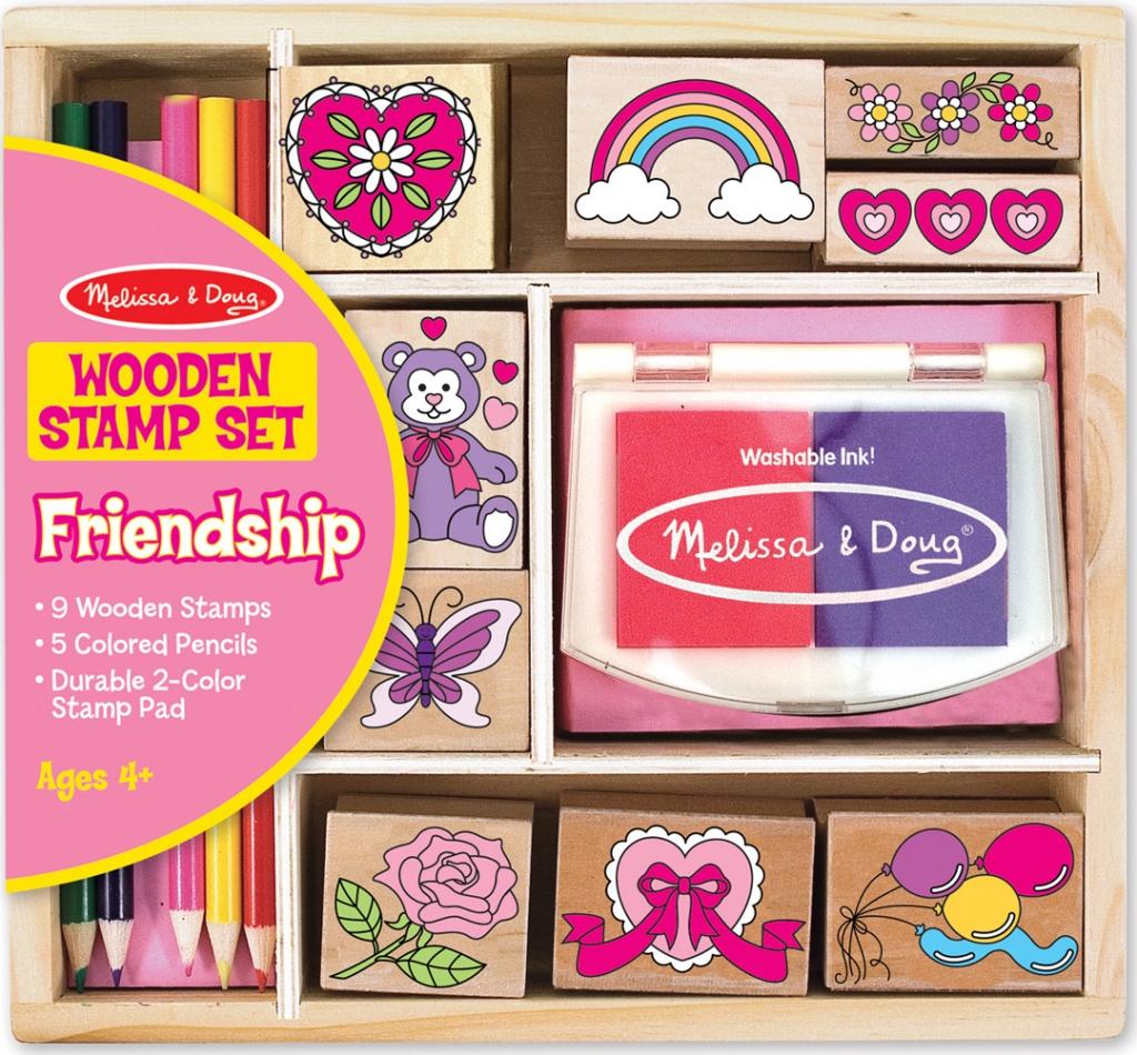 Melissa & Doug - Stamp Set - Friendship (11632)