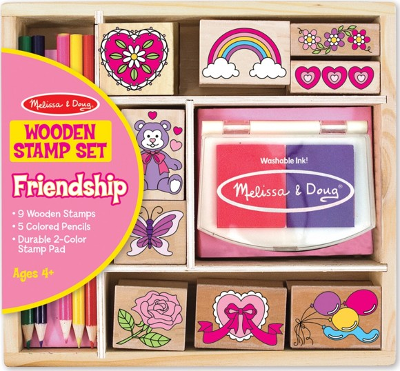 Melissa & Doug - Stamp Set - Friendship (11632)