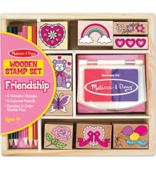 Melissa & Doug - Stempelsæt - Friendship
