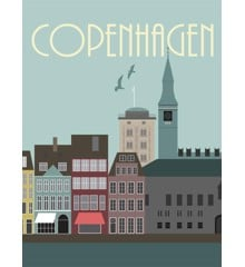 Hoei Denmark - Wonderful Capital 50 x 70 cm - Copenhagen