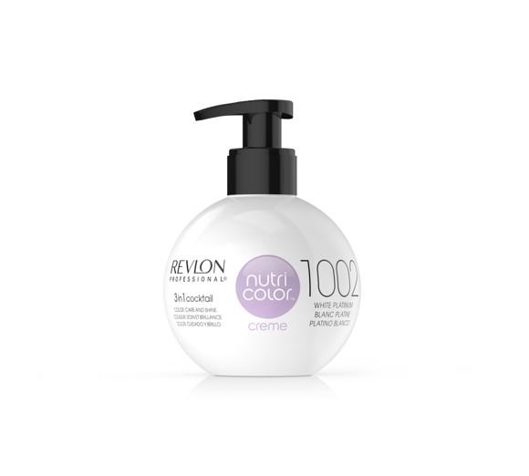 Revlon - Nutricolor Creme Bombe 1002 White Platinum