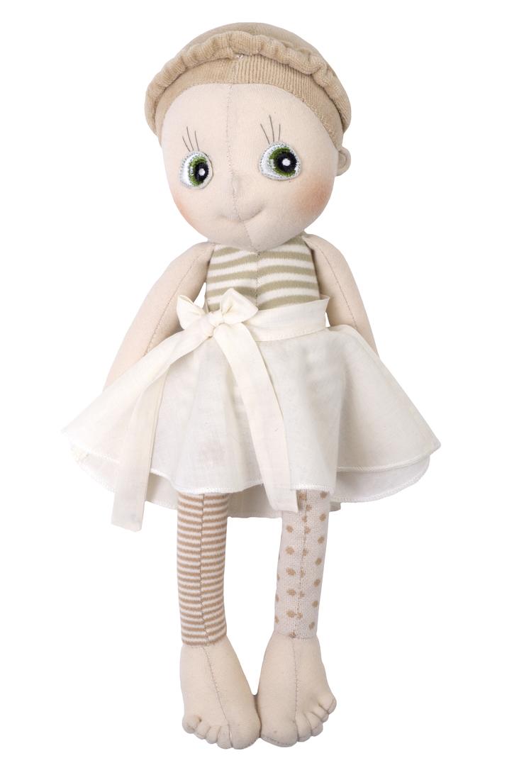 Rubens Barn - Bio-EcoBuds Puppe, Hazel