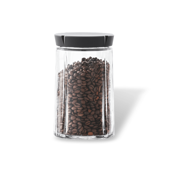 Rosendahl - Grand Cru Opbevaringskrukke 1 L - Black