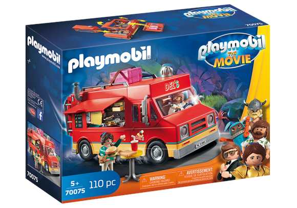 Playmobil - THE MOVIE Del's Food Truck (70075)