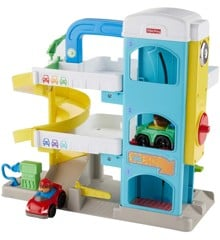 Fisher-Price - Little People - Hjælpsom Nabo Garage (FHG50)