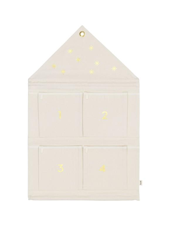 Ferm Living - House Advent Calendar - Off-White (24238)