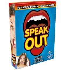Hasbro Gaming - Speak Out DK/NO