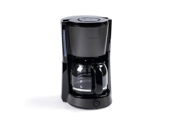 Severin - Kaffemaskine 1000 Watt - Sort