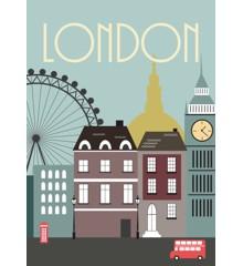 Hoei Denmark - Wonderful Capital 50 x 70 cm. - London (230056050070)