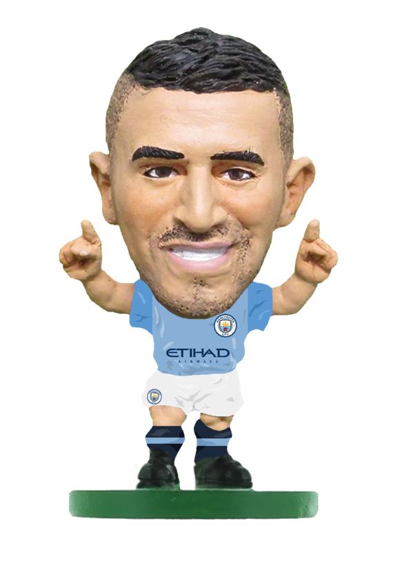 Soccerstarz - Manchester City Riyad Mahrez - Home Kit (2019)