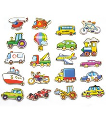 Viga - Wooden Magnets - Vehicles (N58924)