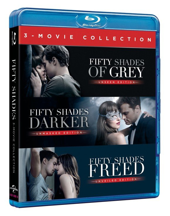 Fifty Shades Trilogy Box Set (Blu-Ray)