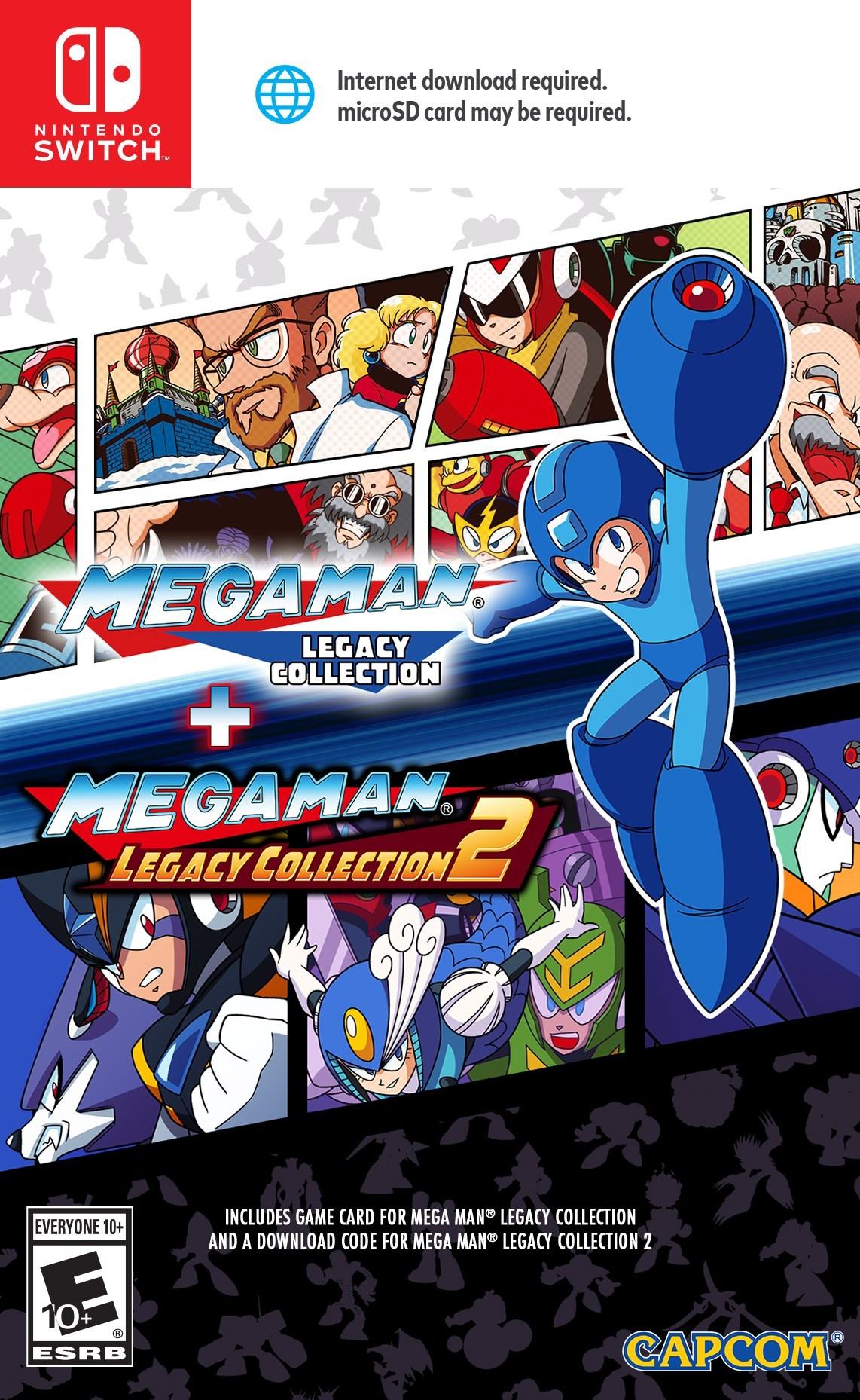 Mega Man Legacy Collection 1 + 2 (Import)