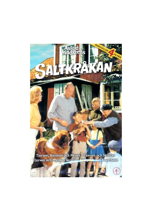 Saltkåkan box - DVD